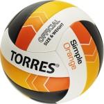Мяч волейбольный Torres Simple Orange V32125