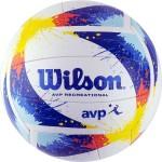 Мяч для пляжного волейбола Wilson AVP Splatter WTH30120XB