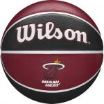 Мяч баскетбольный Wilson NBA Team Tribute Miami Heat (№7) арт.WTB1300XBMIA