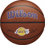 Мяч баскетбольный Wilson NBA LA Lakers (№7) арт.WTB3100XBLAL