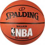 Мяч баскетбольный Spalding NBA Silver Series Outdoor (№5) 83-014Z