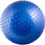 Мяч массажный Torres с насосом 65 см (синий), арт.AL100265
