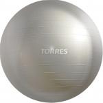 Мяч гимнастический Torres 75 см (серый), арт.AL121175SL