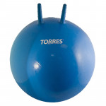 Мяч-попрыгун с ручками Torres 55 см (синий), арт.AL121455