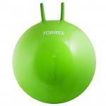 Мяч-попрыгун с ручками Torres 65 см (зелёный), арт.AL121465